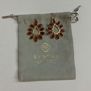 Kendra Scott *Retired* Gold Nyla Earrings